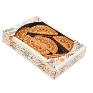 Biscuiti evantai glazurati 480 gr