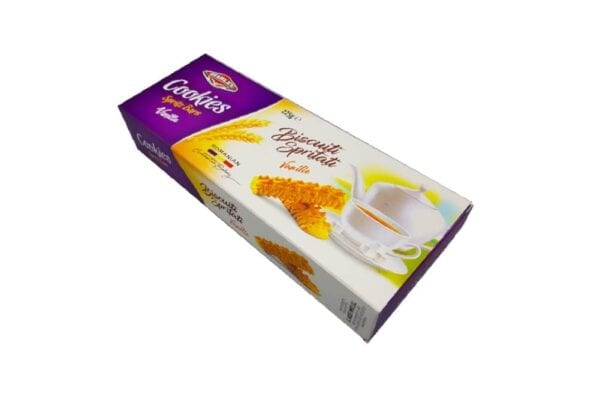 Biscuiti spritati vanilie 225 gr