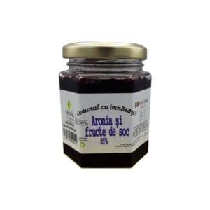 aronia si fructe de soc fara zahar