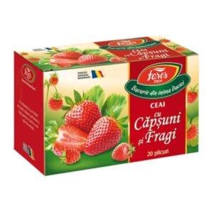 ceai de capsuni si fragi fares
