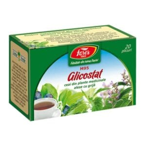 ceai diabet glicostat fares