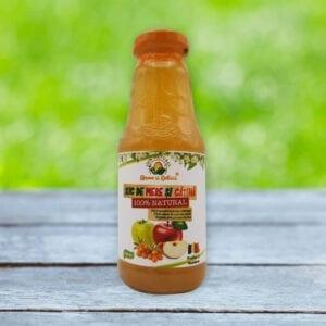 suc natural de mere și cătină