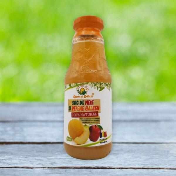 suc de mere si pepene galben 330 ml