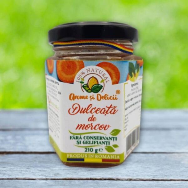 dulceata de morcov 210 gr