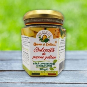 dulceata de pepene galben 200 gr